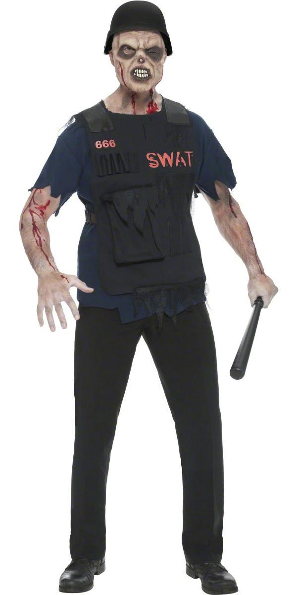 Costume Zombie Costume SWAT Zombie