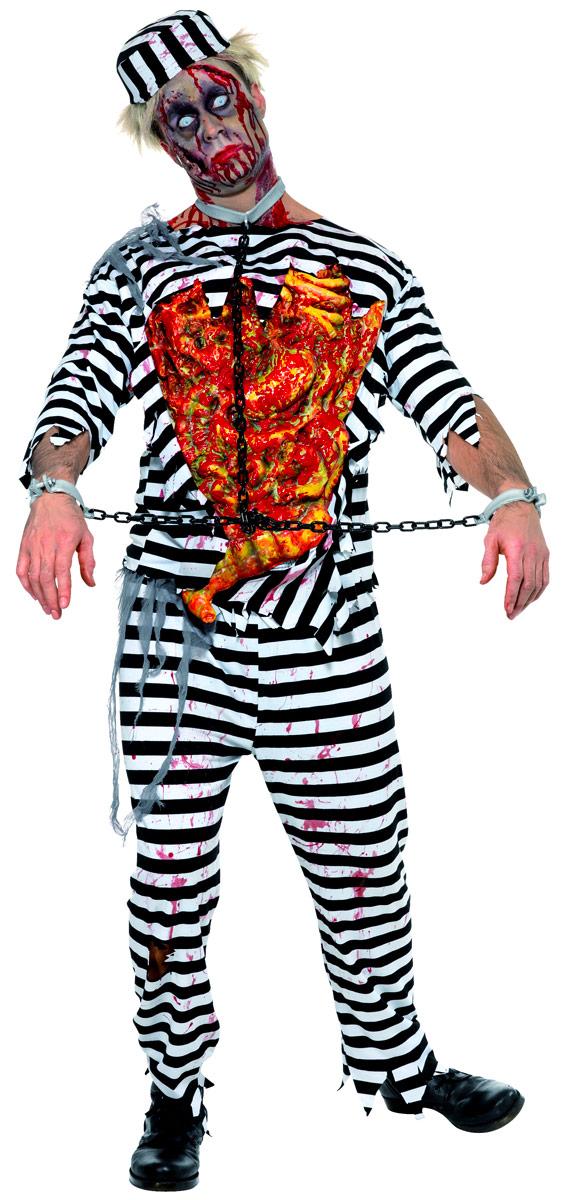 Costume Zombie Costume de bagnard de Zombie