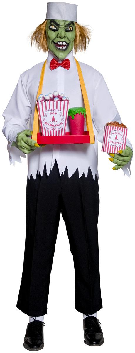 Costume Zombie Cirque sinistre Popcorn dépravée homme Costume