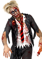 Costume de Zombie School Boy Costume Zombie