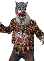 Costume de loup-garou Zombie Alley Costume Zombie