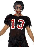Costume de joueur de football américain de Zombie Costume Zombie