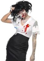 A travaillé à mort Zombie homme Costume Costume Zombie