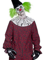 Costume de cirque sinistre Clown torsadée Costume Zombie