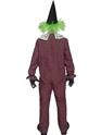 Costume Zombie Costume de cirque sinistre Clown torsadée