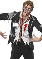 A travaillé à mort Office Zombie Costume Costume Zombie