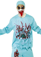 Costume Zombie Alley médecin Costume Zombie