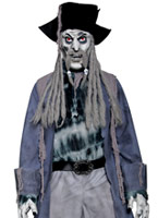 Costume de Pirate Zombie Alley Ghost Costume Zombie