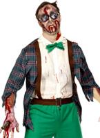 Lycée horreur Zombie Geek Costume Costume Zombie