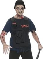 Costume SWAT Zombie Costume Zombie