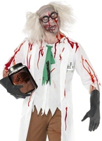 Costume de Zombie Science Teacher Costume Zombie