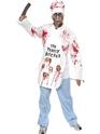 Costume Zombie Costume de Chef mortel