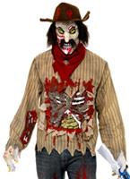 Costume de cow-boy Zombie Alley Costume Zombie