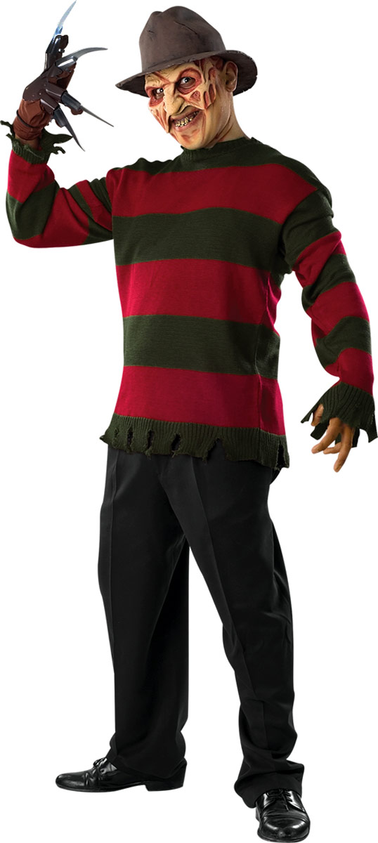 Costume Freddy Krueger Freddy Krueger Sweater Deluxe