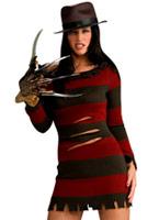 Mme Freddy Krueger Halloween Costume Costume Freddy Krueger