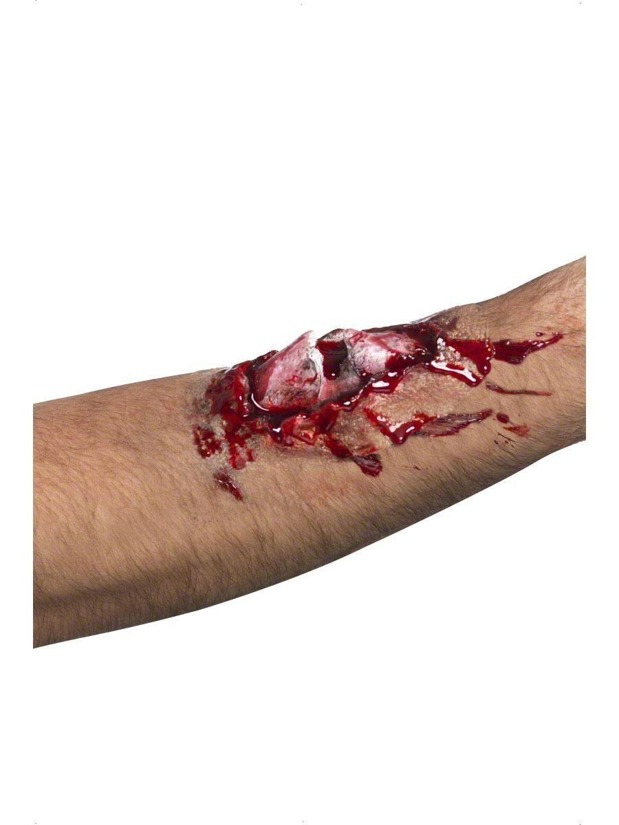 Gore et sang Halloween Cicatrice de l'os cassé