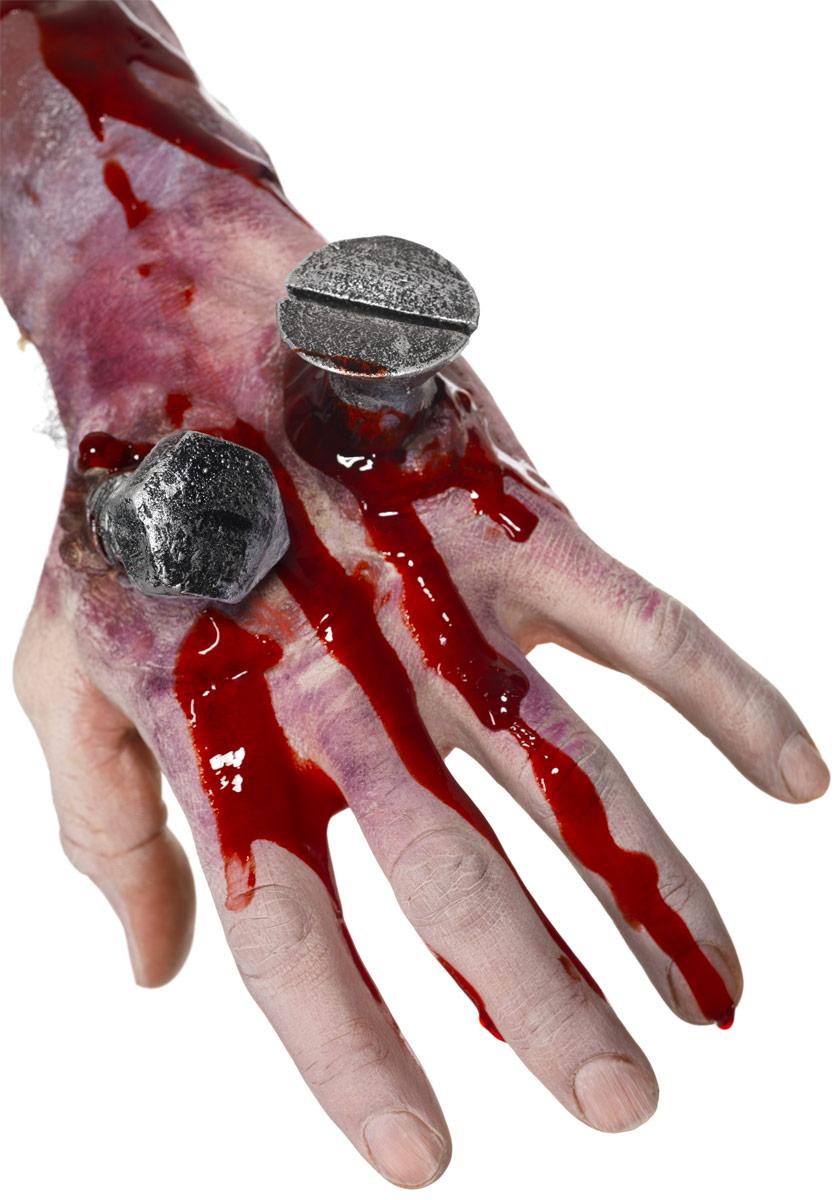 Gore et sang Halloween Tout ce foutu cicatrice