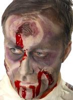 Bullet Head plaie cicatrice Gore et sang Halloween