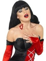 Cicatrice de morsure de vampire Gore et sang Halloween
