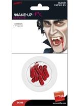 Capsules de faux sang Gore et sang Halloween
