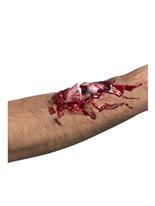 Cicatrice de l'os cassé Gore et sang Halloween