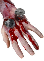 Tout ce foutu cicatrice Gore et sang Halloween