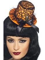Néon haut-de-forme sur bandeau Halloween Capes et chapeaux