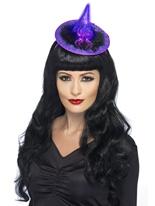 Chapeau de sorcières s'allument Halloween Capes et chapeaux