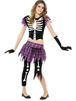 Punky OS ados Costume Halloween Adolescentes