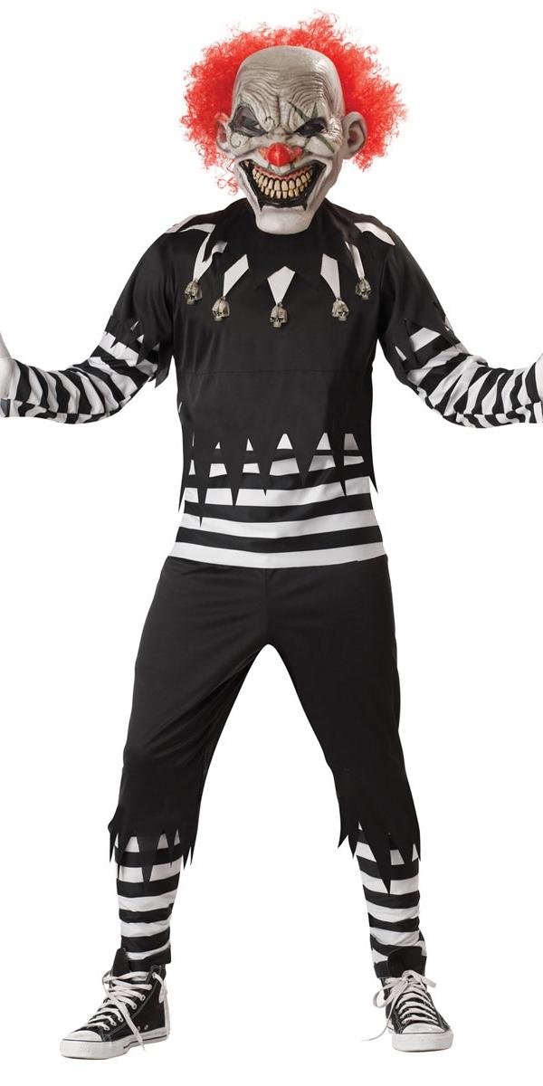 Halloween Costume Homme Costume de Clown effrayant