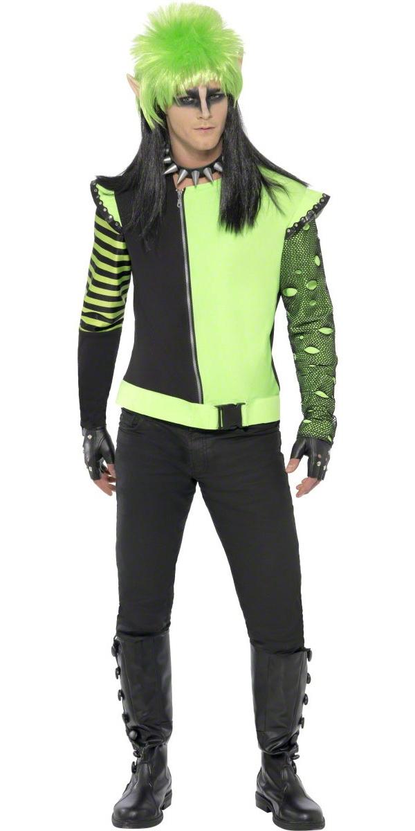 Halloween Costume Homme Costume de Punk Ivy Elf jardin contaminé