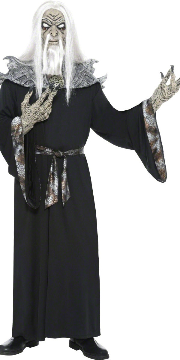 Halloween Costume Homme Costume de sorcier sadique