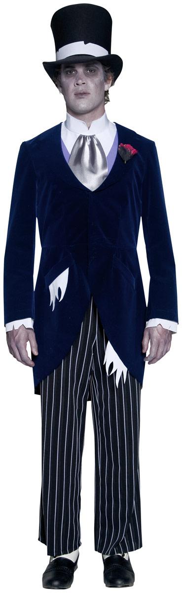 Bien connu Costume de marié de manoir gothique Halloween Costume Homme  ZN88