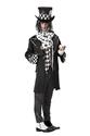 Halloween Costume Homme Costume sombre Chapelier