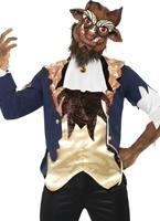 Costume de la bête Halloween Costume Homme