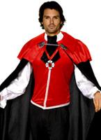 Manoir gothique Vampire Costume Halloween Costume Homme