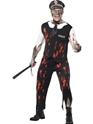 Halloween Costume Homme Costume de policier de Zombie