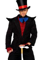 Costume de Chapelier fou mal Halloween Costume Homme
