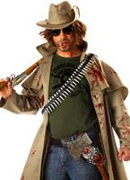 Costume de chasseur de Zombie Halloween Costume Homme