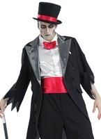 Costume de marié de cadavre Halloween Costume Homme