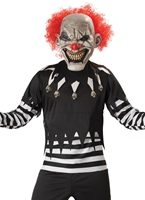 Costume de Clown effrayant Halloween Costume Homme