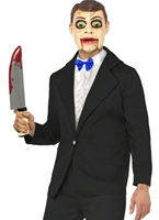 Costume factice ventriloque Halloween Costume Homme