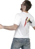 Poignardé dans le dos T-Shirt Halloween Costume Homme