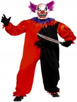 Cirque sinistre Bo Bo le Costume de Clown Halloween Costume Homme