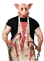 Costume de rectifieuse de porc Halloween Costume Homme