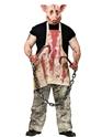 Halloween Costume Homme Costume de rectifieuse de porc