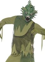 Costume de monstre des marais Halloween Costume Homme