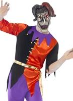 Costume de bouffon torsadée Halloween Costume Homme