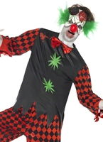 Couper la gorge Clown Costume Halloween Costume Homme
