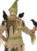 Costume de Crow peur Halloween Costume Homme